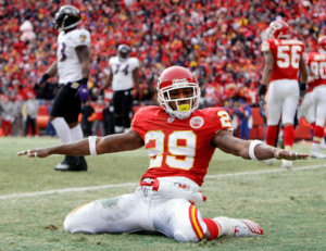 Eric Berry is back with the  Chiefs.