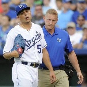 Is a third DL stint in line for lefty starter Jason Vargas?  (photo/MLB)