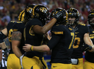 Mizzou had little to celebrate in their loss to Alabama in the SEC title game (photo/Mizzou Athletics)