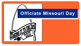 Officiate Missouri Day is July 25th