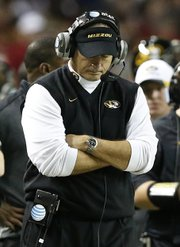 Another conference championship game, another disappointing loss for Gary Pinkel