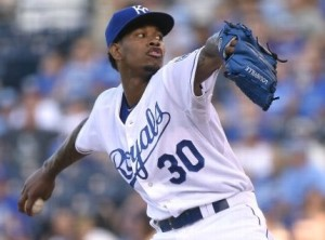 Yordano Ventura struggles in his fourth straight start. (MLB.com)