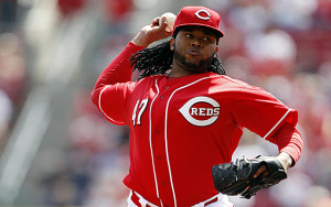 Johnny Cueto last pitched on Saturday.  He'll make his Royals debut on Thursday. (photo/MLB)