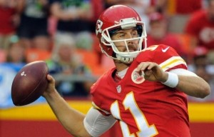 Alex Smith threw a touchdown pass and interception (photo/NFL)