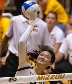 Carly Kan (photo/Mizzou Athletics)