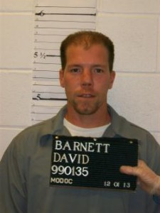 David Barnett (courtesy; Missouri Department of Corrections)