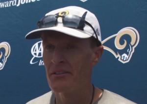 Rams special teams coach John Fassel