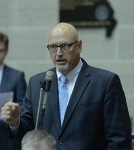 Representative Kevin Engler (photo courtesy; Tim Bommel, Missouri House Communications)