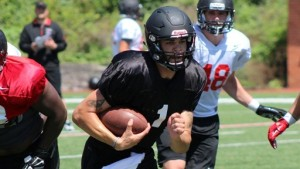 Tay Bender will lead the Redhawks after being named starting quarterback (photo/GoSoutheast.com)