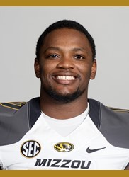 Kentrell Brothers finished with 16 tackles and two interceptions to seal a Tiger victory (photo/Mizzou Athletics)