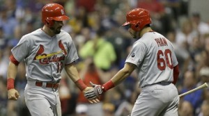 Matt Carpenter and Tommy Pham led the Cardinals offense (photo/MLB)