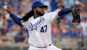 Johnny Cueto is now 2-4 with the Royals (photo/MLB)
