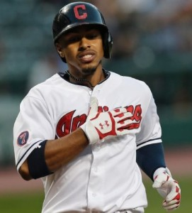 Cleveland's Francisco Lindor (photo/MLB)