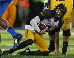 Is Maty Mauk down and out at Mizzou (photo/UK Athletics)