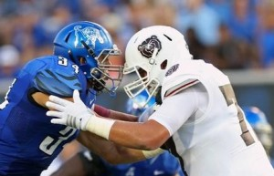 The Bears opened the Dave Steckel era with a loss to Memphis (photo/gotigersgo.com)