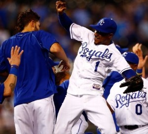 The Royals have plenty to celebrate.  They are 30-games over .500