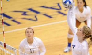 SLU volleyball swept Mizzou for the Tigers first defeat of the season (photo/SLUBillikens.com)