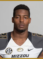 Ian Simon, one of three Mizzou defensive players hurt in the game. (photo/MIzzou Athletics)