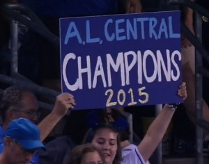 This fans simply sums it up for the Royals.