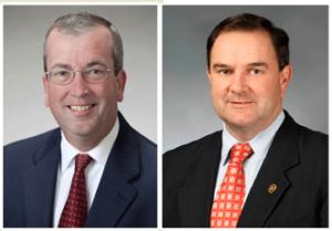 Senator Joe Keaveny (D-St. Louis) and Senator Mike Kehoe (R-Jefferson City)