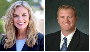 Sarah Steelman and Senator Eric Schmitt (R-Glendale)
