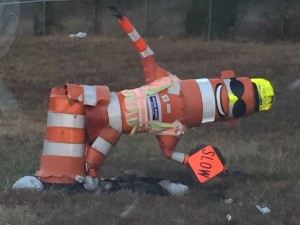 Barrel Bob has seen better days (photo/MODOT)