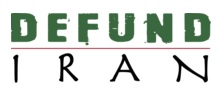 Defund Iran logo