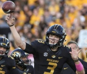 Drew Lock looks for more consistency against Eastern Michigan (photo/Mizzou Athletics)