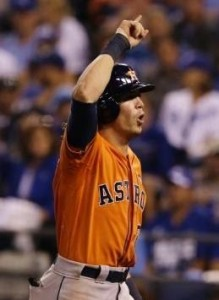 Colby Rasmus has two homers through two post-season games (photo/MLB)