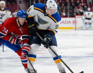 Vladimir Tarasenko's points streak came to an end in Montreal. (photo/NHL.com)