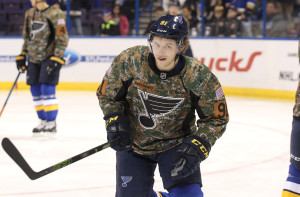 St. Louis Blues Vladimir Tarasenko Photo by Bill Greenblatt/UPI