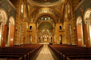 The Catholic Cathedral Basilica of St. Louis (Wikimedia Commons)