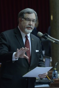 Representative Tom Flanigan (photo courtesy; Tim Bommel, Missouri House Communications)