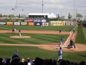The Royals' first spring training game is Wednesday, March 2nd (photo/stadiumjourney.com)
