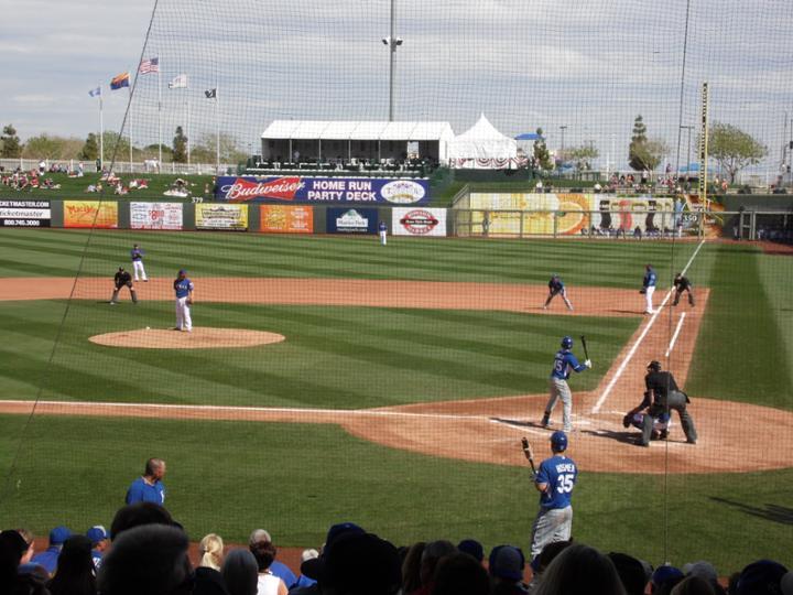 Kansas City Royals Vs Texas Rangers Surprise Stadium March