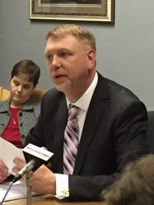 State Budget Director Dan Haug