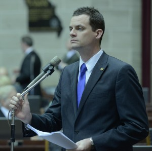 Representative Justin Alferman (photo courtesy; Missouri House Communications)