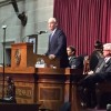 Gov. Nixon at podium