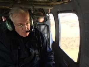 Gov. Nixon surveys damage in St. Louis region on Jan. 2