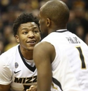 Wes Clark and Terrence Phillips helped lead Mizzou on a strong second half comeback. (photo/Mizzou Athletics)