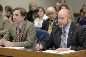 Representatives Jay Barnes and Robert Ross (photo courtesy; Tim Bommel, Missouri House Communications)