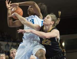 Mizzou at Kentucky (photo/UK Athletics, Elliott Hess)