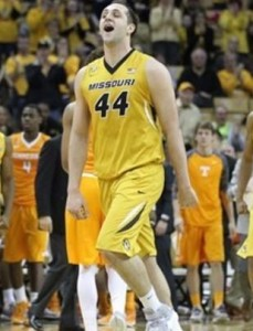 Ryan Rosburg is enjoying his recent surge on the court (photo/Mizzou Athletics)