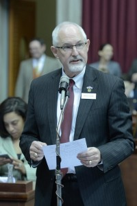 Representative Steve Lynch (photo courtesy; Tim Bommel, Missouri House Communications)