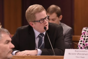 Representative Caleb Rowden (photo courtesy; Tim Bommel, Missouri House Communications)