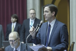 Representative Jay Barnes (photo courtesy; Tim Bommel, Missouri House Communications)