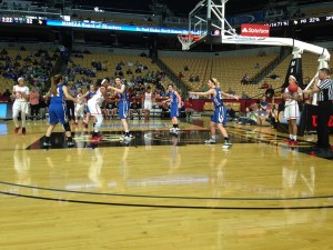 Kirkwood and Francis Howell play in the Girls Class 5 semifinal