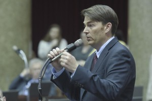 House Speaker Todd Richardson sponsored the language of Amendment 10, which was passed by voters in 2014.  (photo courtesy; Tim Bommel, Missouri House Communications)