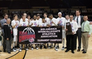 MIAA tourney champs (photo/bearcatsports.com)