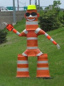 Barrel Bob (courtesy; Missouri Department of Transportation)